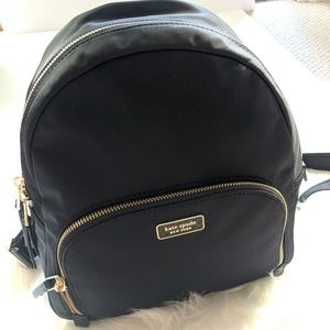 Kate Spade medium backpack Dawn black